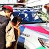 Polícia aborda jovem transtornado após invadir oficina mecânica