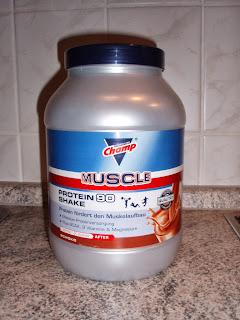 Champ Muscle Protein 90 Shake Schoko
