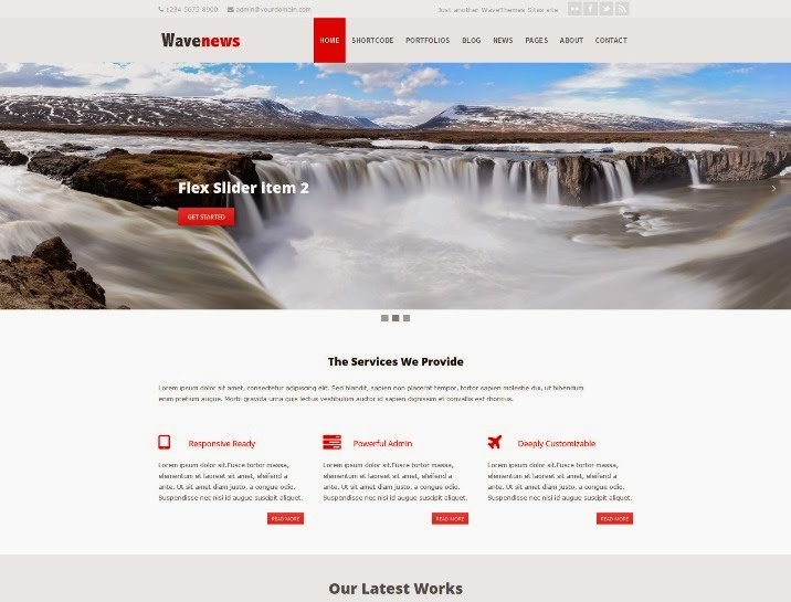 WaveNews – Responsive Multipurpose Creative Theme