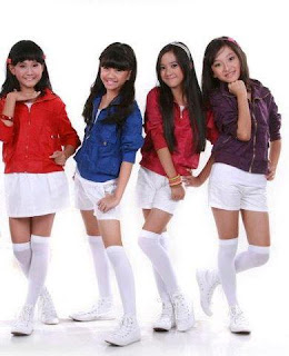 Foto Swittins Girlband Indonesia