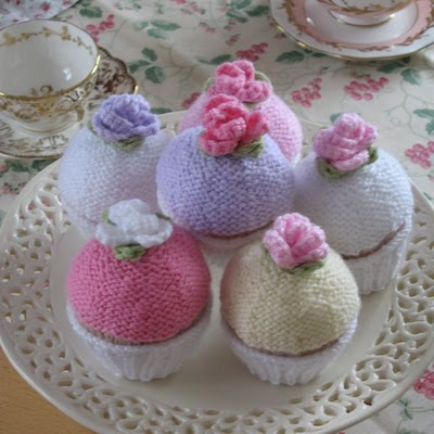 Free Play Food Patterns Knit Sweets