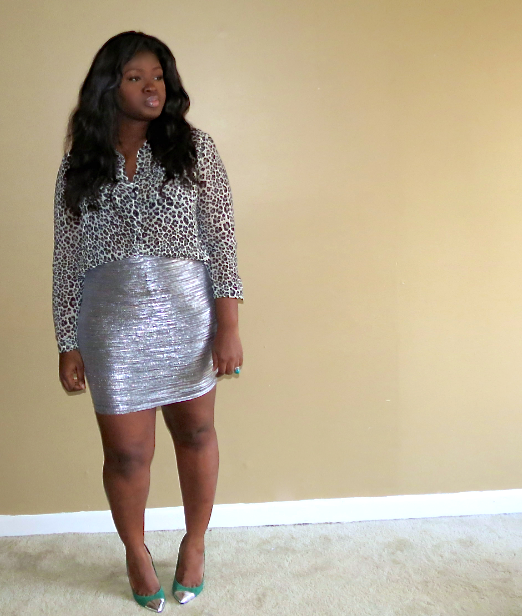 how to wear body-con skirts plus size