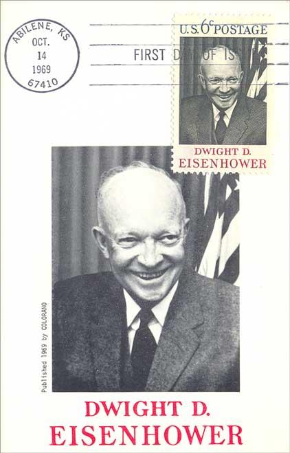 Dwight D Eisenhower Stamp
