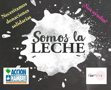 DONA PINCHANDO LA IMAGEN DE #SomosLaLeche