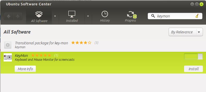 cara instal keymon di Ubuntu