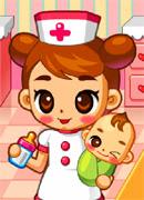 Нянечка - Онлайн игра для девочек