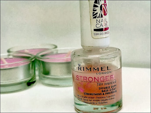 Rimmel Stronger Base Coat Nail Polish