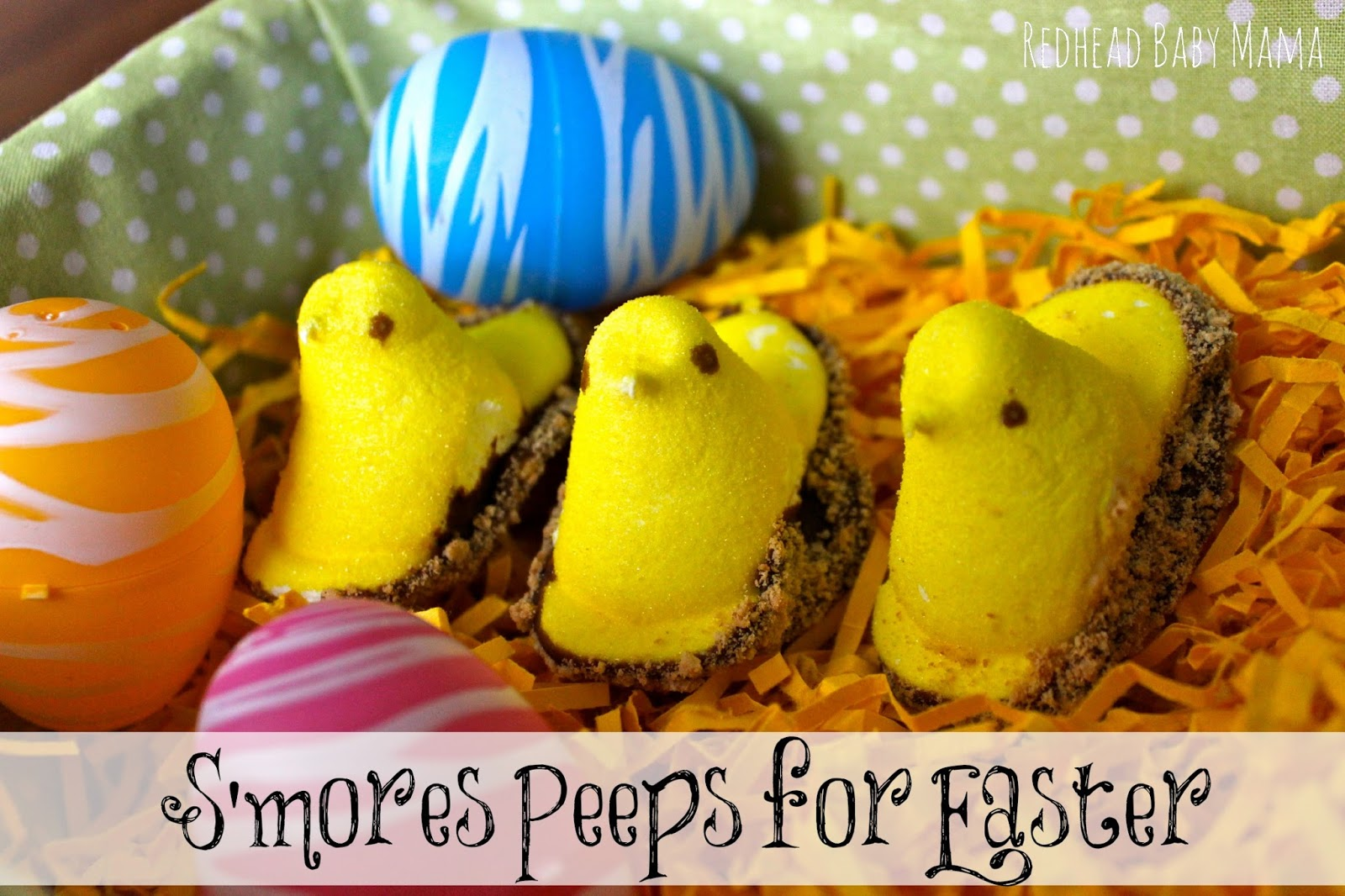 S'mores Peeps for Easter by Redhead Baby Mama