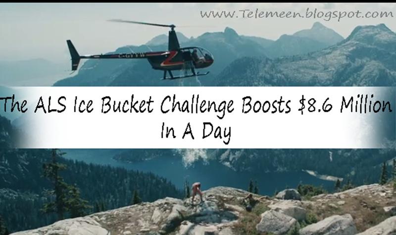 ALS Ice bucket challenge donations, ALS Ice bucket challenges, Ice bucket challenge latest pic, ALS ICe bucket challenge, What is ALS ice bucket challenge, ALS ice bucket challenge with helicopter, Danger Ice bucket challenge through helicopter