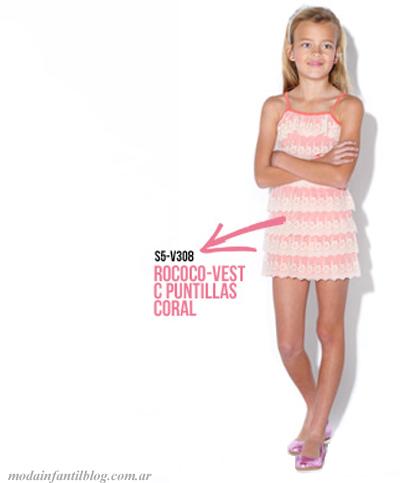 vestidos nenas de moda verano 2014