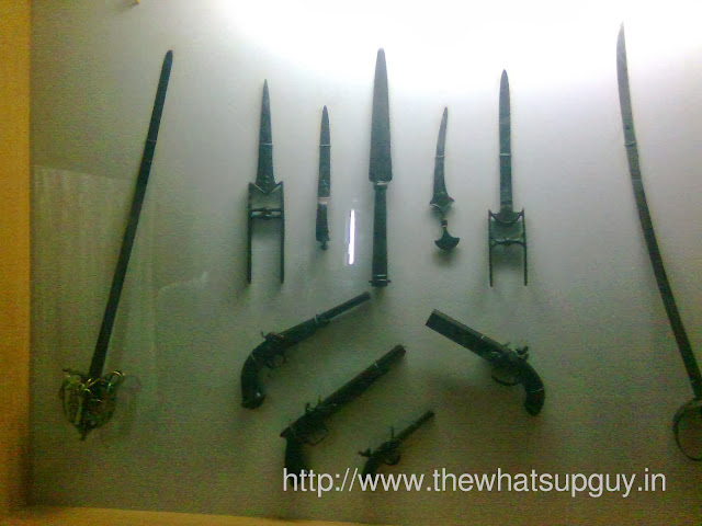 Swords and Guns in Tipu's Palace