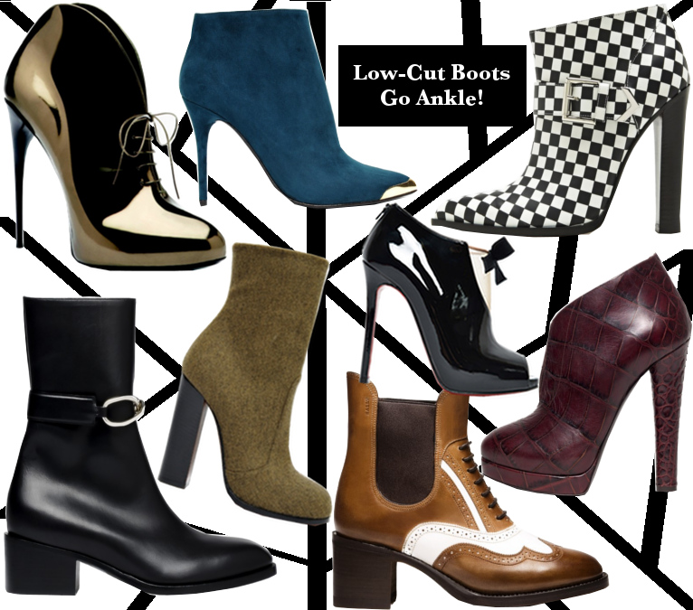 Fall 2013 Low-Cut Boots Trend