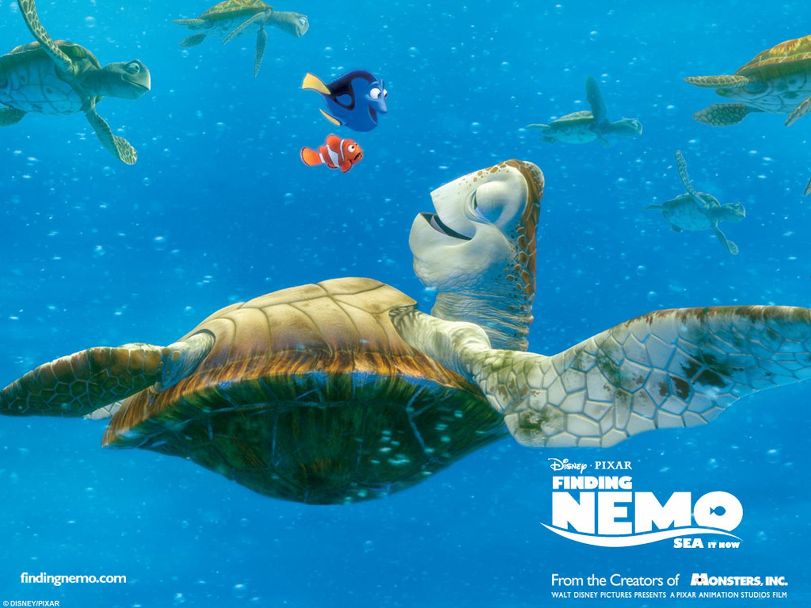 Finding Nemo 3d Movie Poster Hd Wallpapers Cartoon