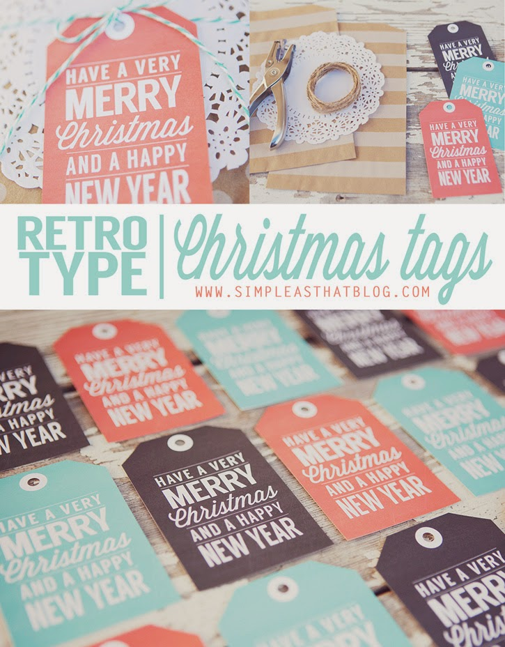 Free Gift Tags to Print