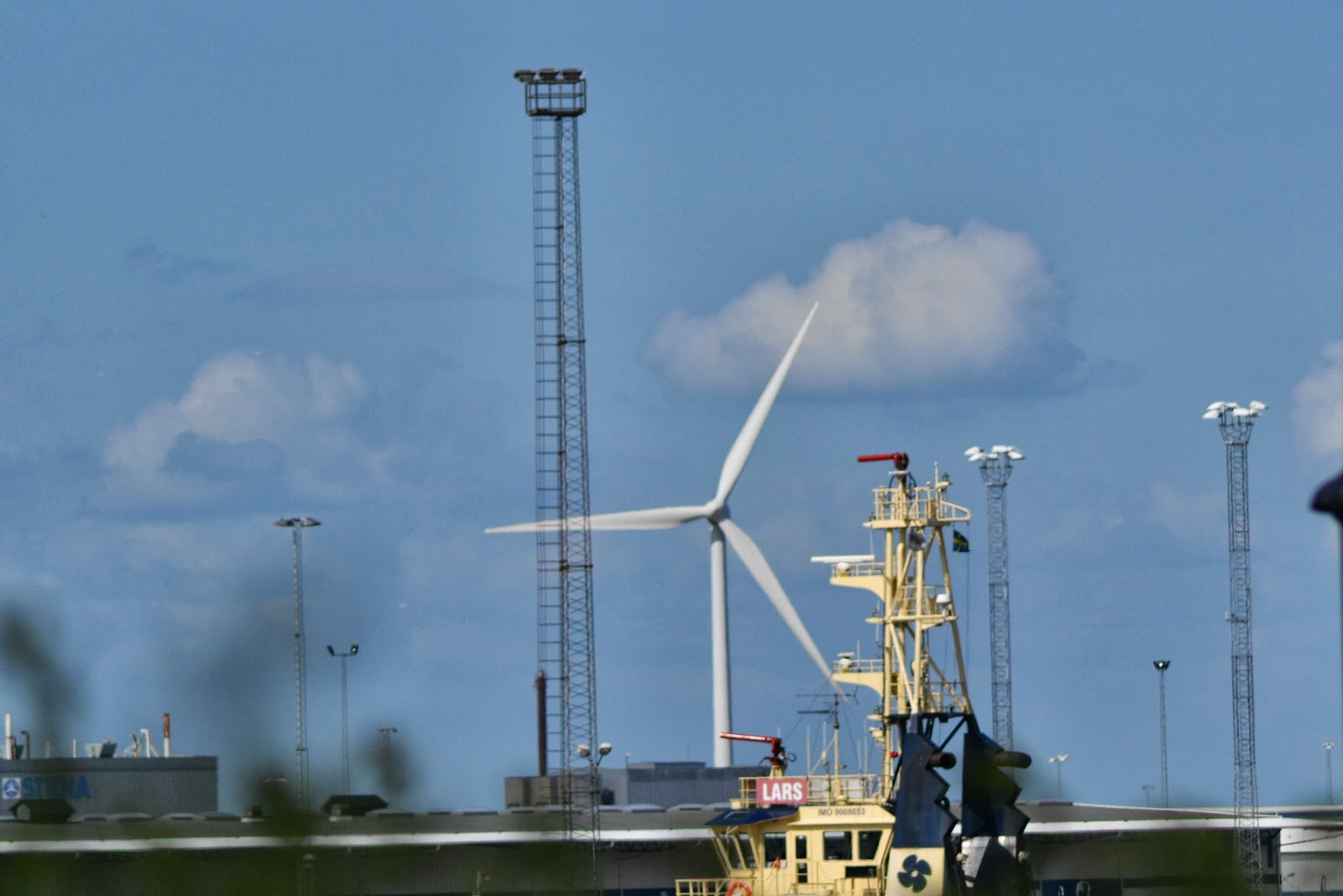 Ubiquitous wind turbine of Sweden