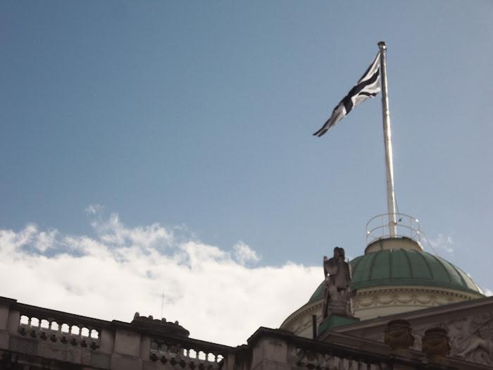 it's cohen - UK style blog: london fashion week, lfw, SS13, somerset house, union jack, union flag