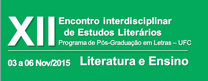 XII Encontro Interdisciplinar de Estudos Literários