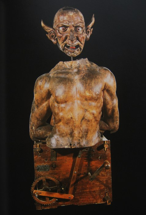 17th century Devil Automaton by Manfredo Settala