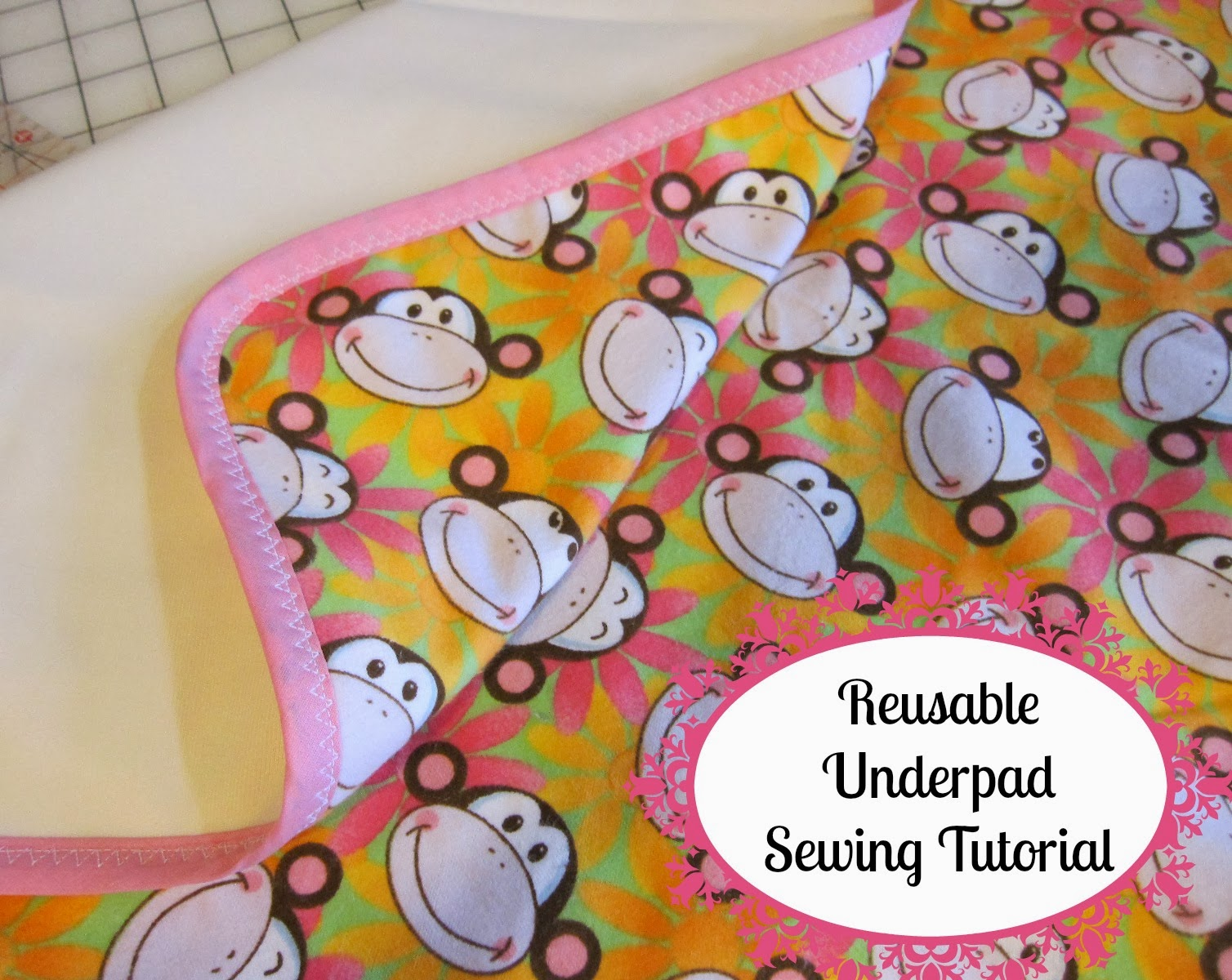 I Make These Reusable U0026 Absorbent Underpads For A Little Friend Of Mine  Occasionally, And Thought It Might Be A Project Others Could Use As Well,  ...