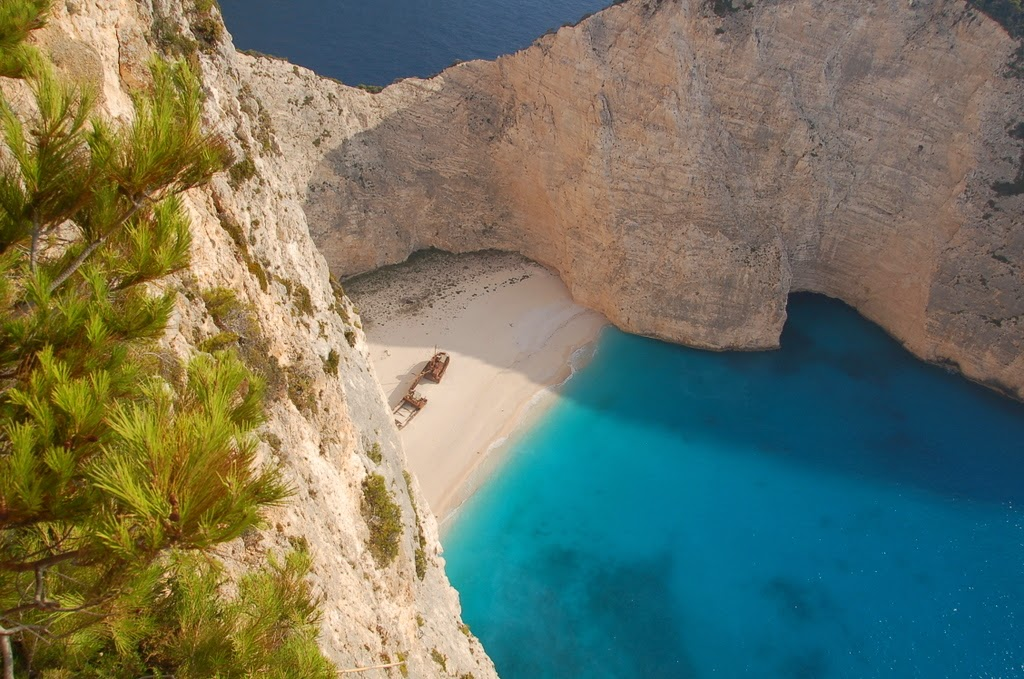 Most Beautiful Places in Greece, Greece, Santorini, Meteora, Skiathos, Navagio Beach, Samaria Gorge, Holidays, Travel, Travel Ideas, Beach, Best Places,