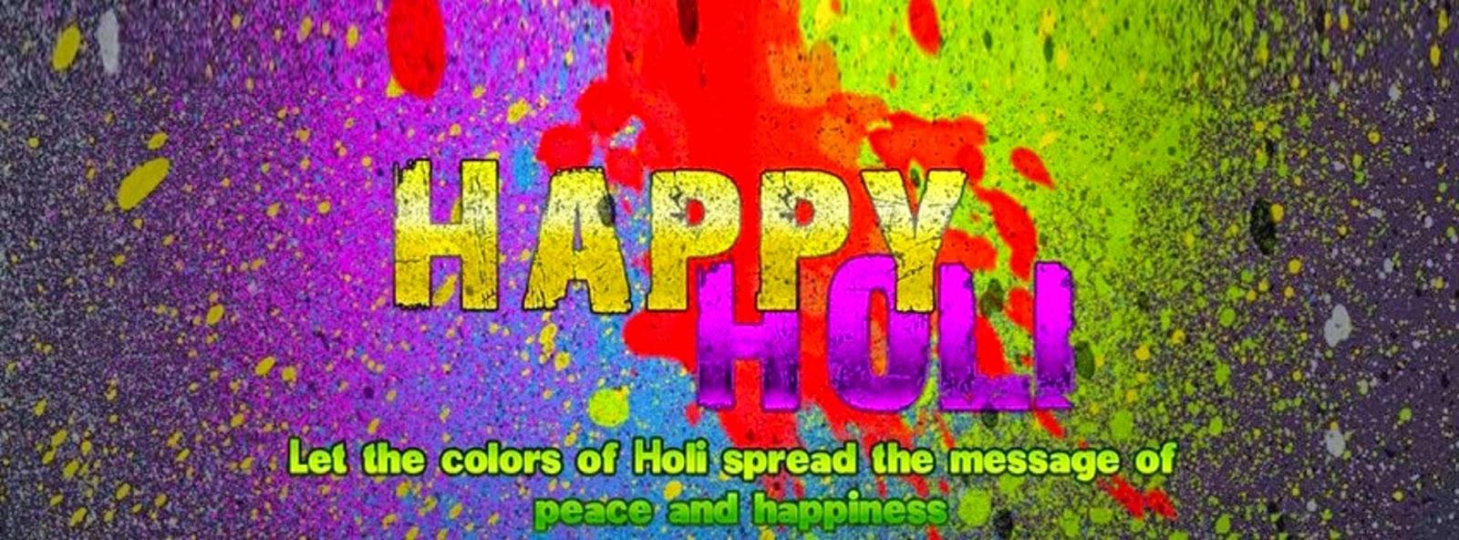 3d wallpaper happy holi for facebook covers hd wallpaper
