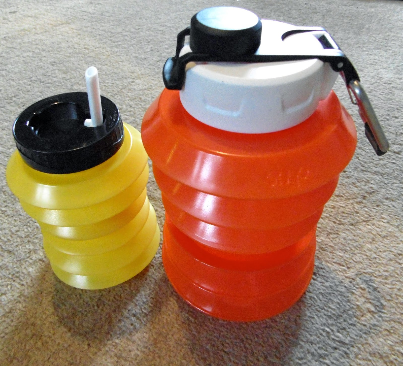 500ml and 1 litre Ohyo Callapsabottles
