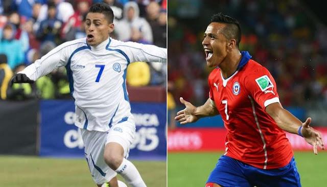 Chile vs El Salvador en vivo