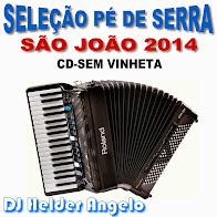 SELEÇÃO PÉ DE SERRA-SÃO JOÃO 2014 CD-SEM VINHETAS BY DJ HELDER ANGELO