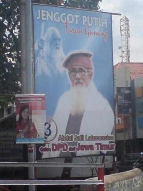 5 Iklan Baliho Caleg Yang Lucu Bikin Ketawa !