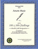 GIAM Double Gold 100X100 Challenge Award!