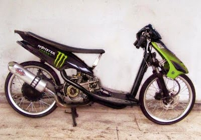 Modification Yamaha Mio Drug Style