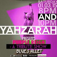 Yahzarah LIVE