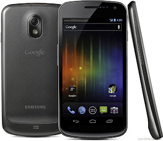Samsung Galaxy Nexus ice cream sandwich