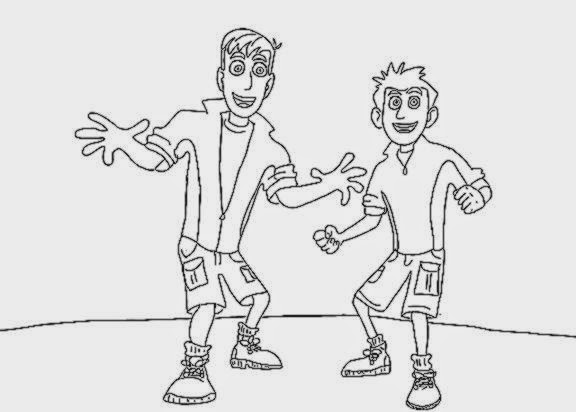 Wild Kratts Coloring Pages Free Coloring Sheet Kratts Printable Coloring Pages