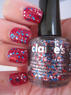 Barry-M-Raspberry-glitter-Claire's-Accessories