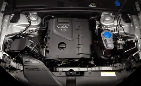 2016 Audi A5 Engine specs