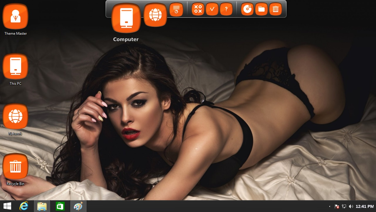 download lingerie model wallpaper Windows 8.1