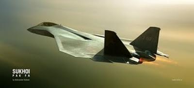 Jet tempur siluman Rusia