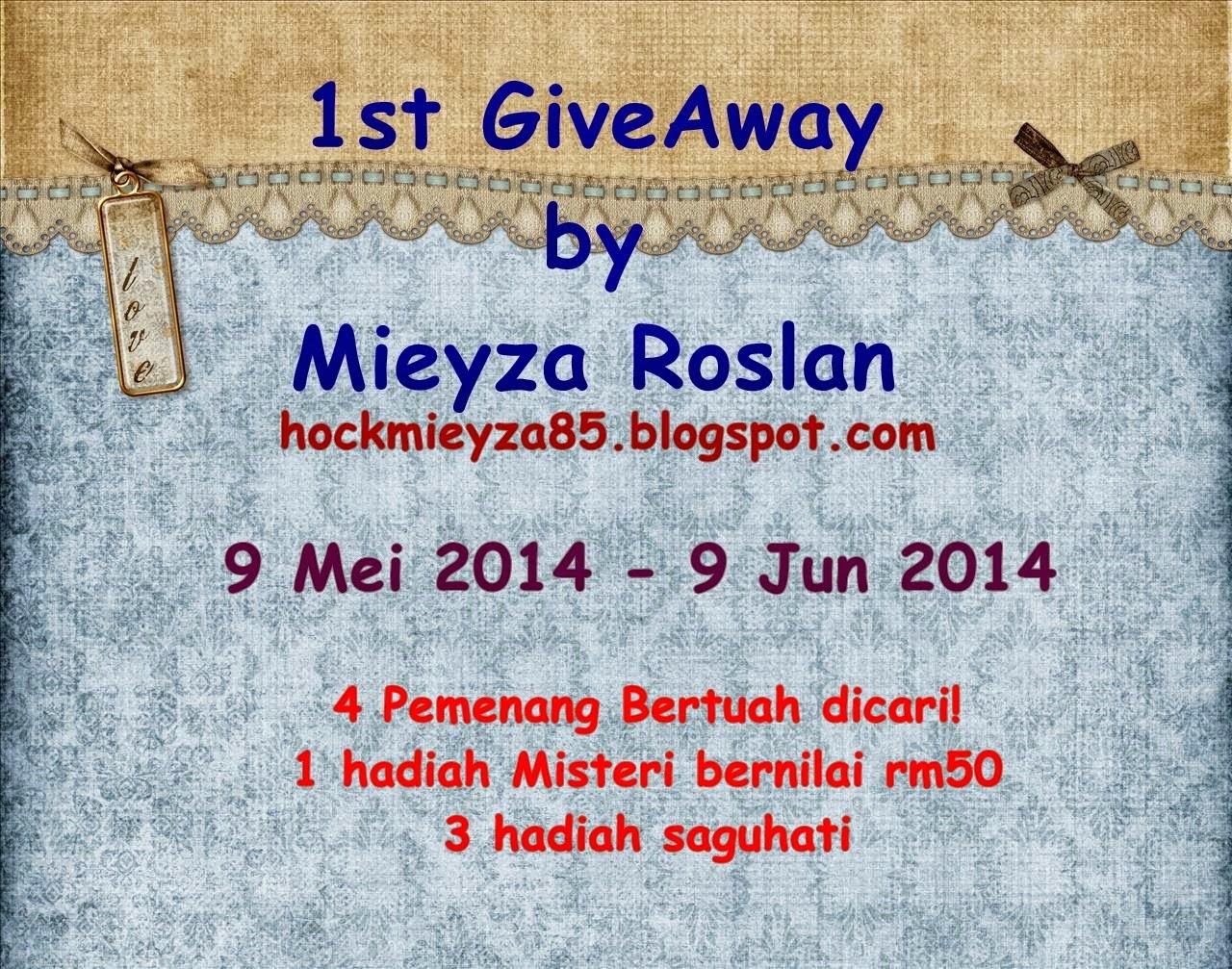 1st GA by Mieyza Roslan