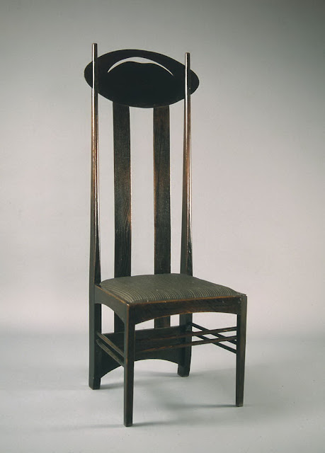 Čārlzs Renijs Makintošs, Charles Rennie Mackintosh krēsls