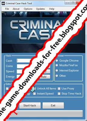 Case Hack Cheat Tool v.5.4 (Cash, Coins, Speed, Energy - Hack