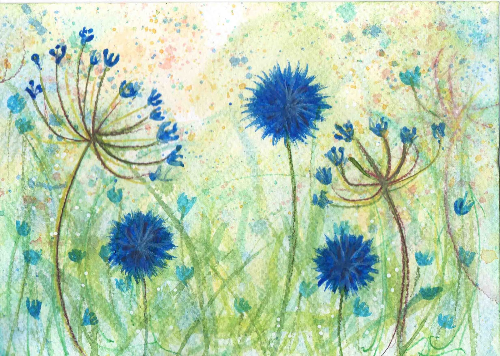 Posted by claudia hemmings at 23 57 no comments for How to paint simple watercolor flowers