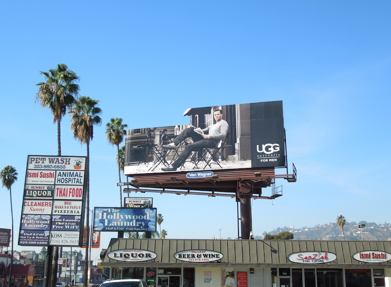 UGG Men special extension billboard