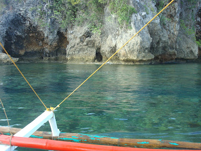 clear waters in Sipalay City