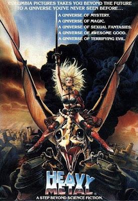 heavy metal, 1981, ivan reitman, metal hurlant, Métal Hurlant, Gerald Potterton
