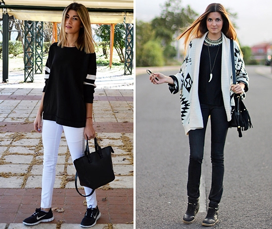 In The Spotlight: Black & White Trend / Black & White Outfits / Black & White Street Style