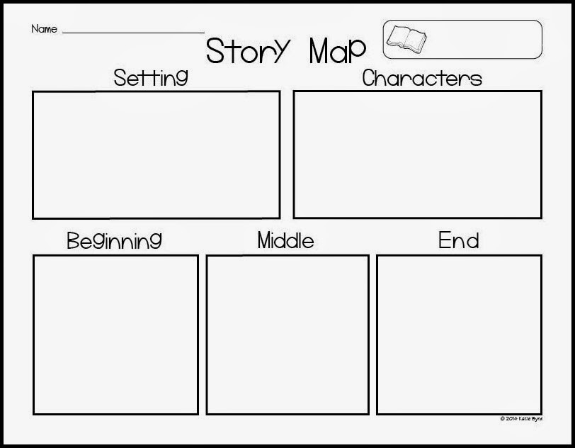 Tree Map Template Printable Mrs. Byrd's Learning Tree: Story Map ...