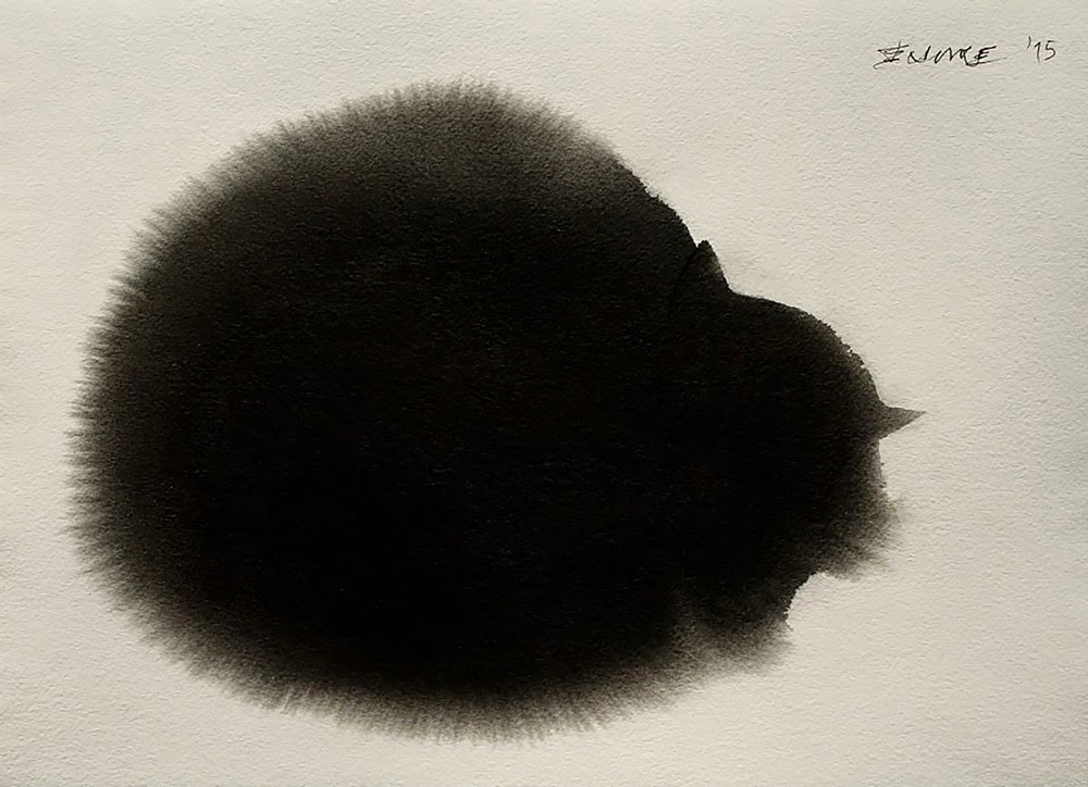 watercolor ink cats endre penovac-5