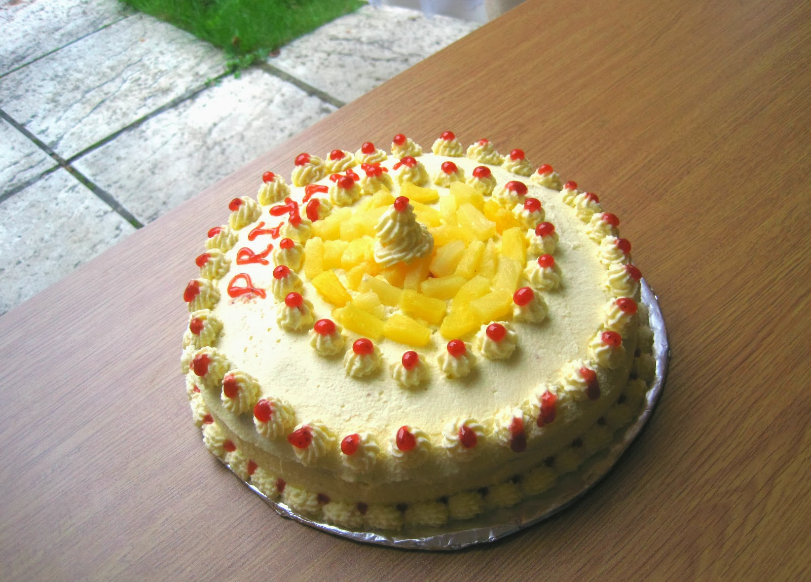 Cook With Priyanka Pineapple Cake With Fresh Cream Frosting