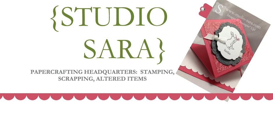 Studio Sara -- Stampin' Up! Demonstrator, Sara Smeby -- {Ideas & Resources}